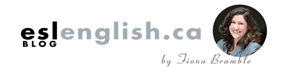 Fiona's ESL Blog