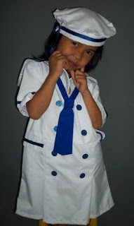 Kostum Profesi Sailor Girl Anak