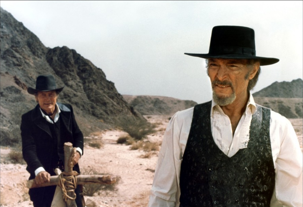 God's Gun Starring Lee Van Cleef and Jack Palance