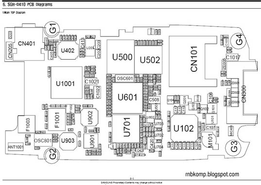 samsung sgh-d410 diagram