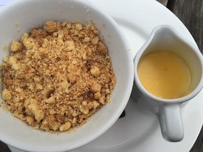 The Blackbird Pub, Ponteland - Apple crumble