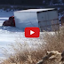 How to Recover a Semi-Truck From a Frozen Lake