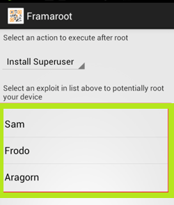 eksploid,framaroot,android,aragon,gandalf