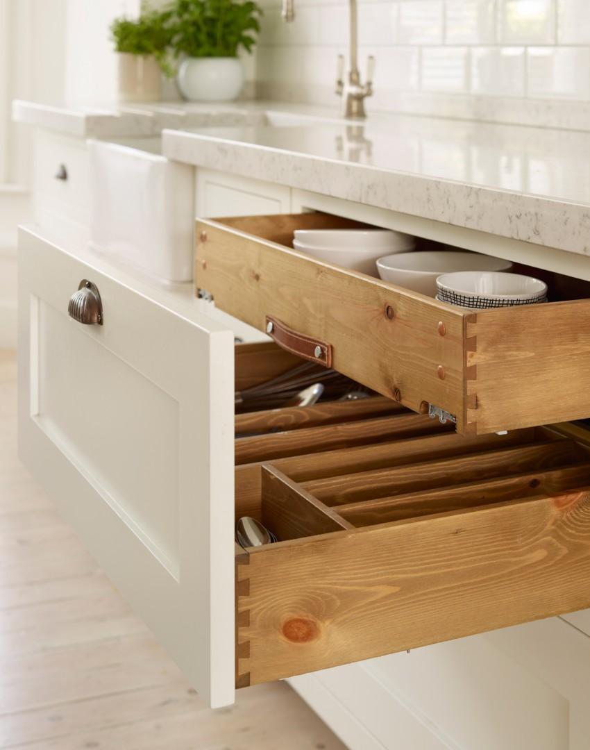 Moderner Landhausstil In Der Küche U2013 Design Im Klaren Schwarz Weiß
