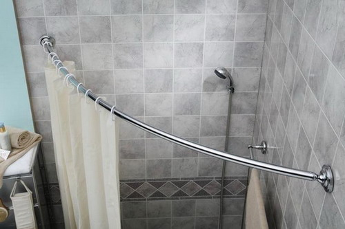 Some Tips For Curved Shower Curtain Rods Installation