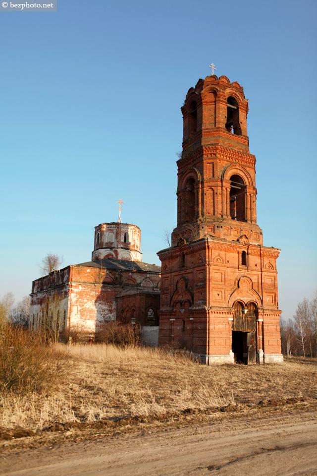 церковь село красное кимрский район