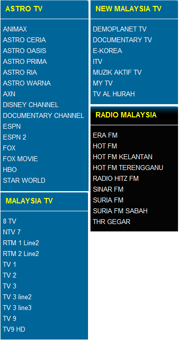 Tonton Live Streaming Online TV | Astro