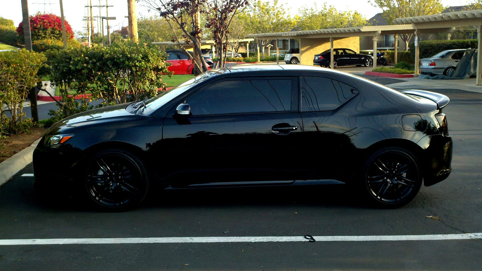 Scion scion tc horsepower : All Black Scion Tc