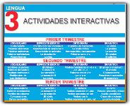 ACTIVIDADES INTERACTIVAS DE LENGUA