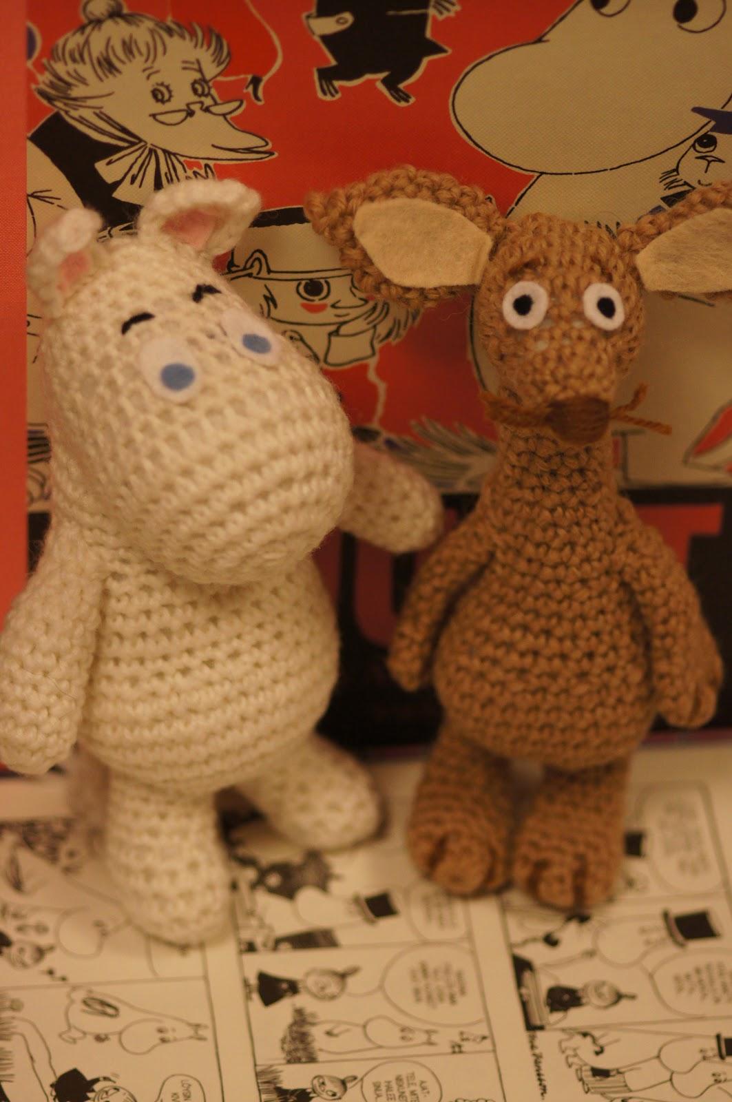 Elina virkkaa-Elina\'s crochet: Crochet Moomin amigurumis- Virkattuja ...