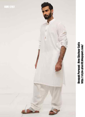 kur-1282-white-karandi-shirt-with-white-cotton-shalwar-by-deepak-perwani
