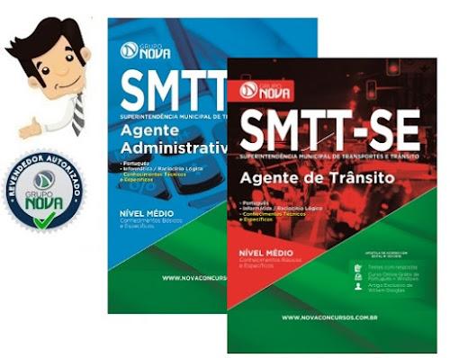 Concurso SMTT Sergipe 2016 - Apostilas Cargos Agente de Trânsito e Administrativo