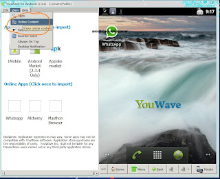 Cara Download Game dan Apps yang Suport Emulator Youwave Android