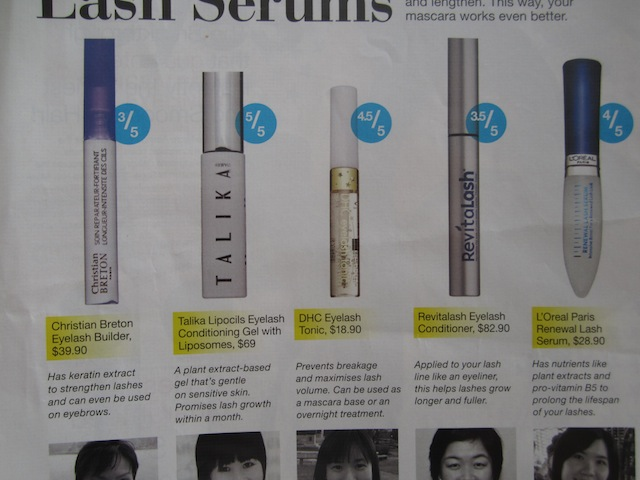 The Blackmentos Beauty Box Review Loreal Renewal Lash Serum