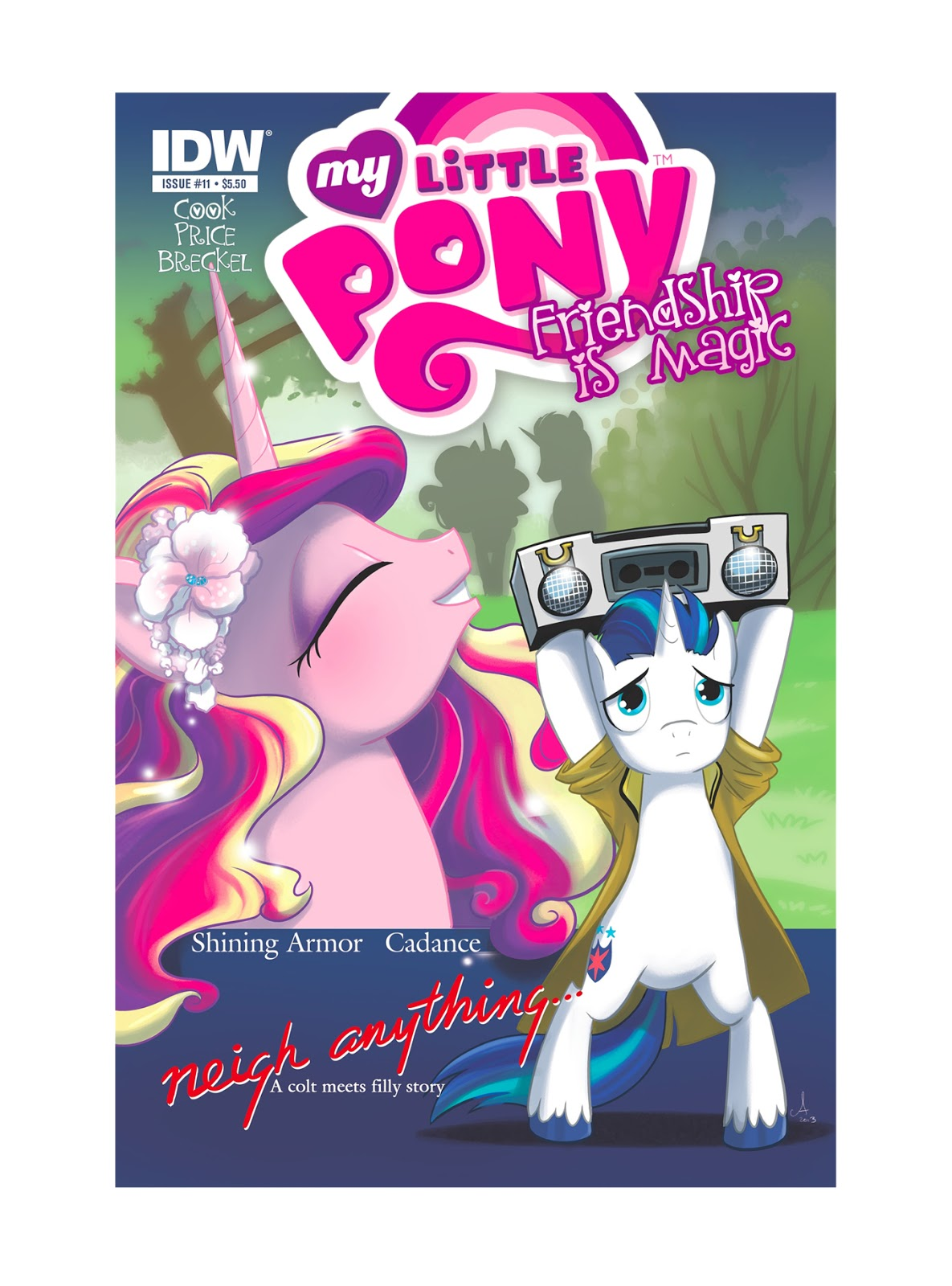 My Little Pony Friendship Is Magic Idw Shout Out Tv