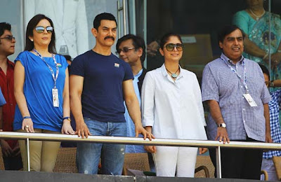Bollywood stars at Final OF ICC World Cup