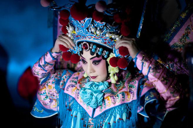 "Beijing Opera ""Red Cliff"" งิ้วสามก๊กศึกผาแดง - เสียวเกี้ยว"