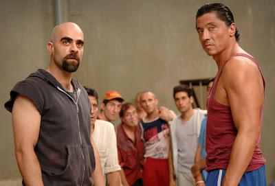 Luis Tosar, personaje de nuestro FILMA2, en una escena de Celda 211