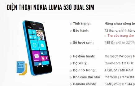 Lumia 530 al descubierto