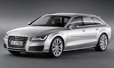 Audi A7 Avant : Une rivale pour la Mercedes CLS Break