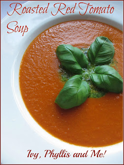 ROASTED RED TOMATO SOUP