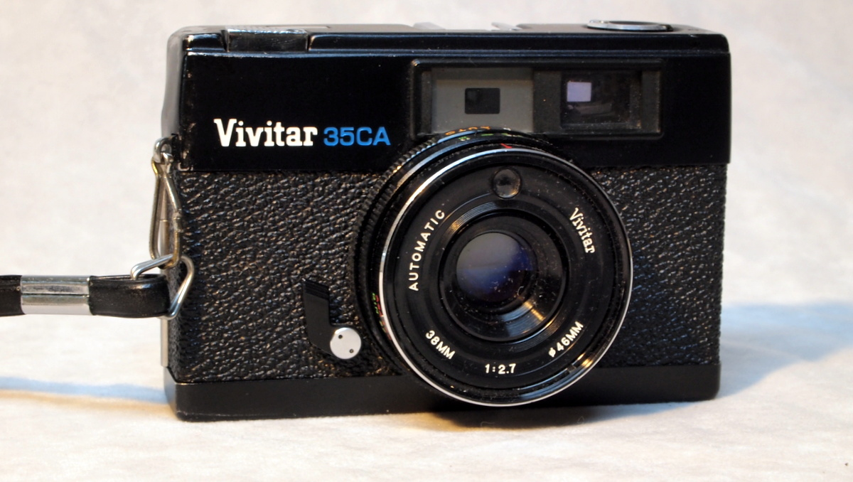 Random Camera Blog: Vivitar 35CA - a nice surprise