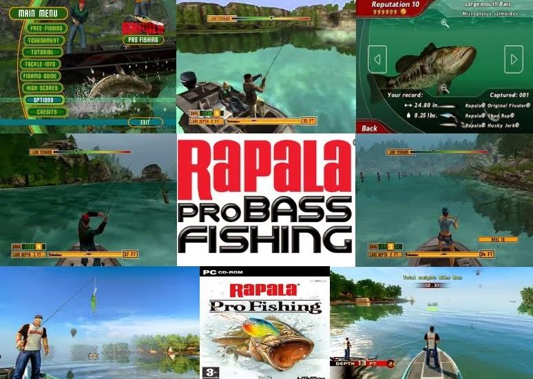 download rapala pro fishing