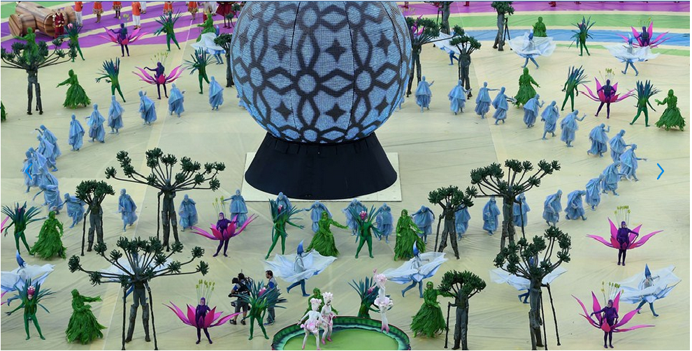 FIFA World Cup Brazil 2014 Opening Ceremony Pictures