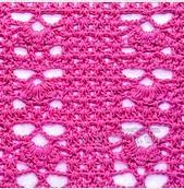 Punto crochet calado #15
