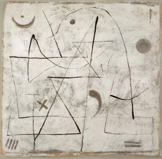 Paul Klee painting - Gedanken Bei Schnee