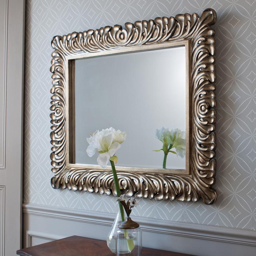 Proper placement of mirrors for Small decorative mirrors