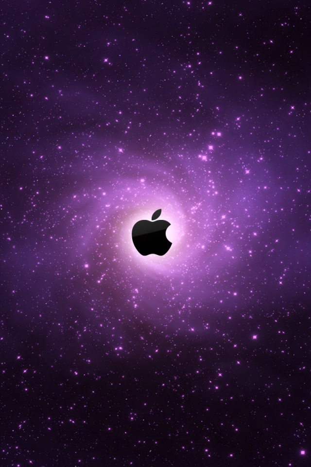 Apple iPhone Galaxy Wallpaper HD Download