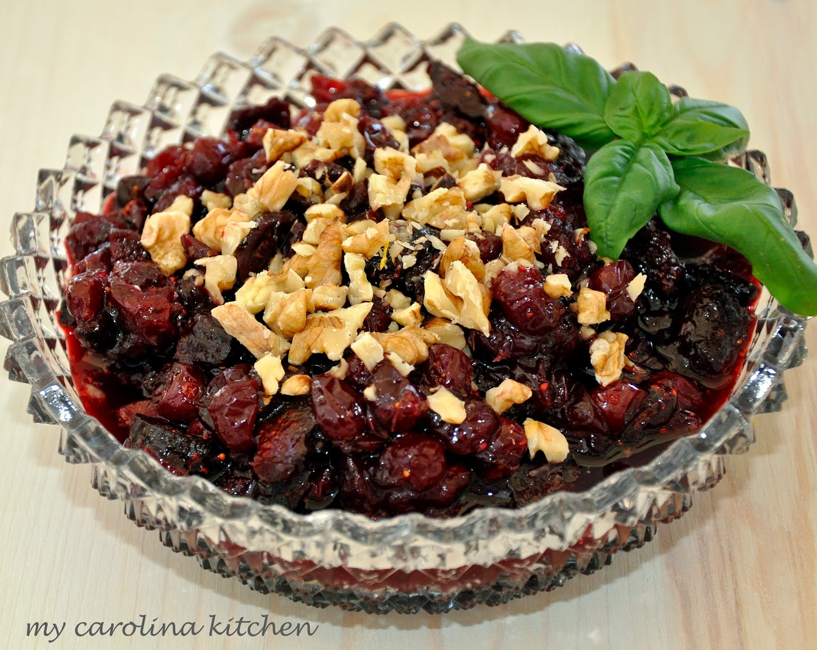 My Carolina Kitchen A Plethora of Cranberry Sauces & Relishes