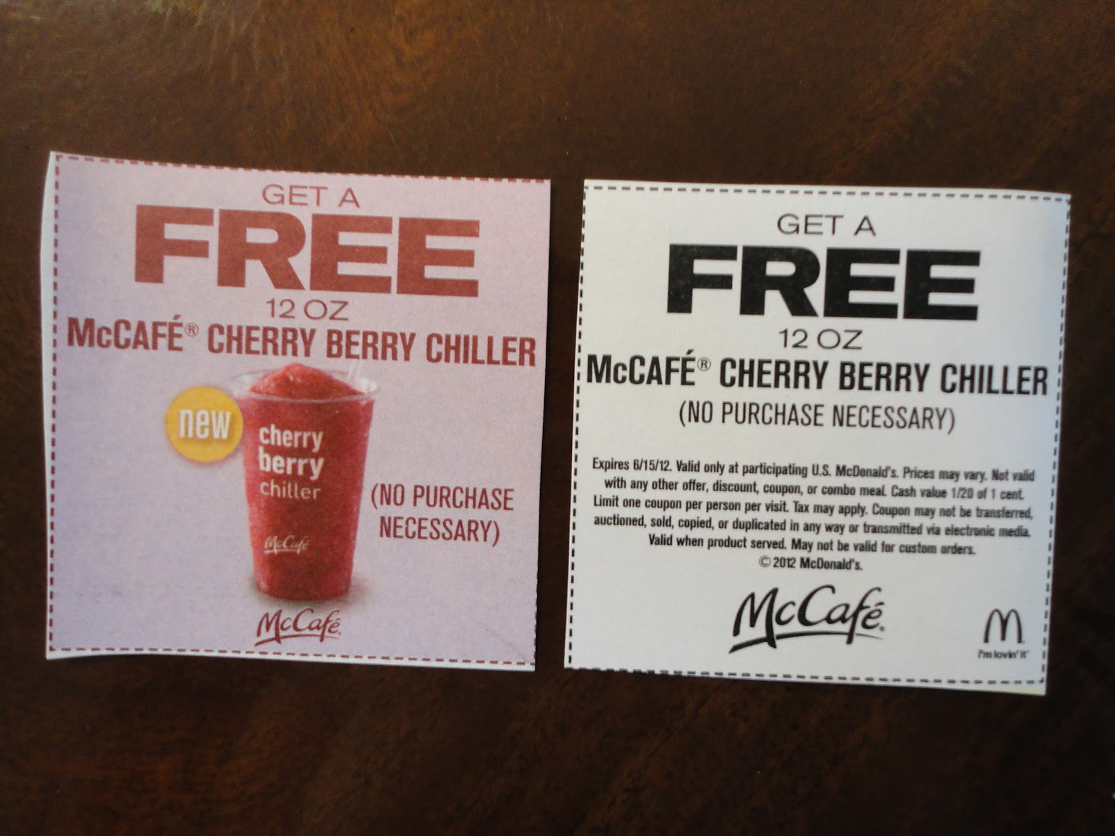 Past McDonalds Coupon Codes