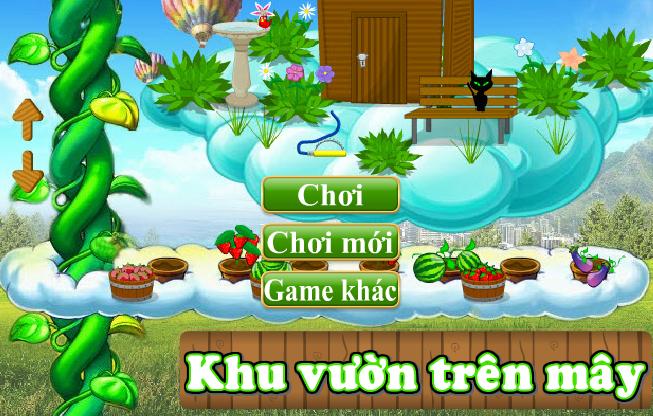 Khu vườn trên mây - Chơi game khu vuon tren may online trực tuyến