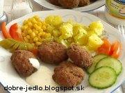 Fašírky z mletého mäsa - recept