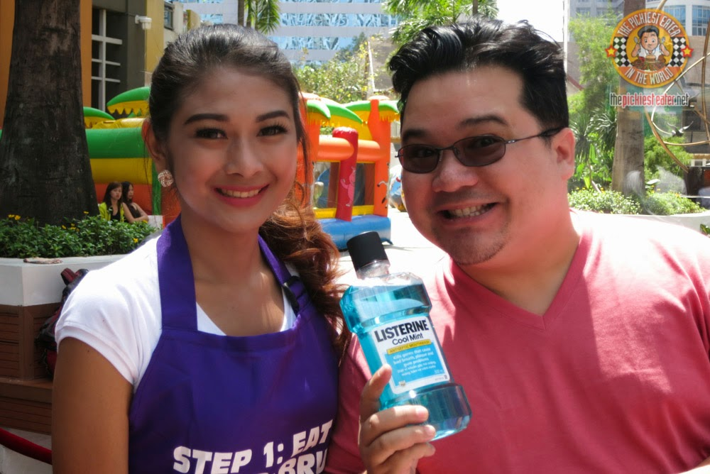 with Listerine model