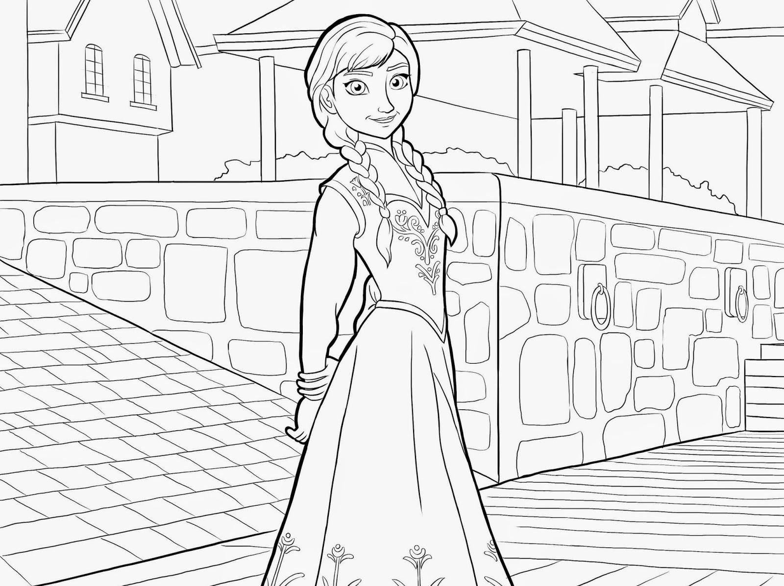 Prinzessin Anna Und Elsa Ausmalbilder : Gro Z Gig Disney Frozen Malvorlagen Kostenlos Ideen Malvorlagen