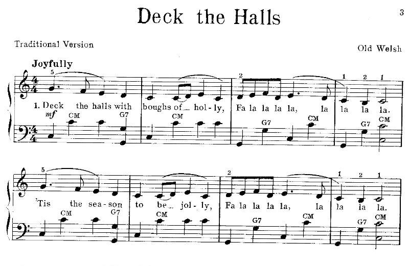 Sheet Music Clip Art http://silohillfarm.blogspot.com/2012/11/deck ...