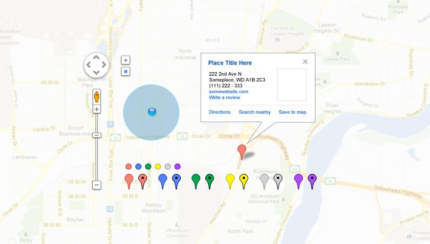 Free Google Map UI Toolkit