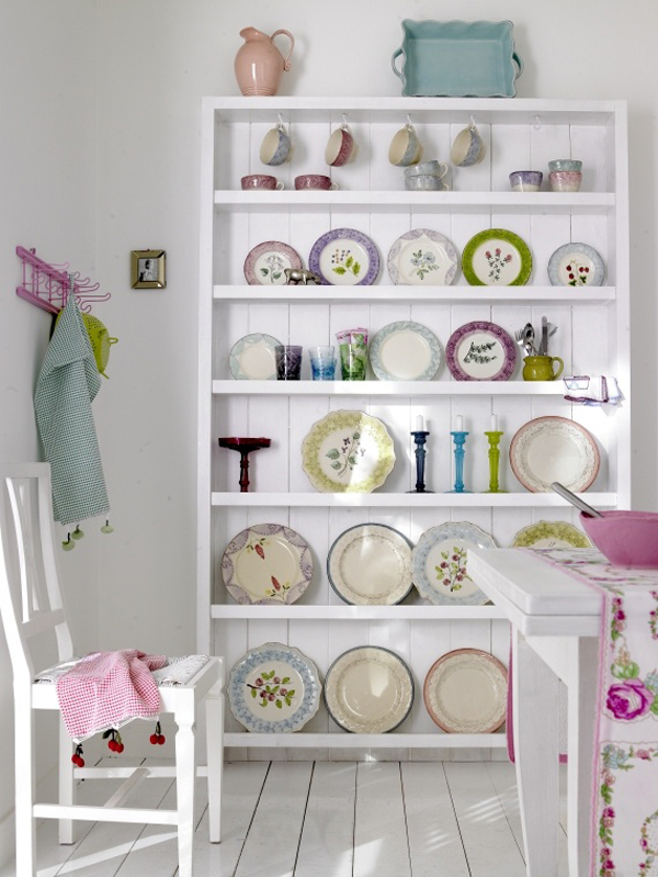 10 Incredible Storage Ideas For Your Home Office! Even if it is a giant dining room dresser full of Rice DK Plates and home accessories