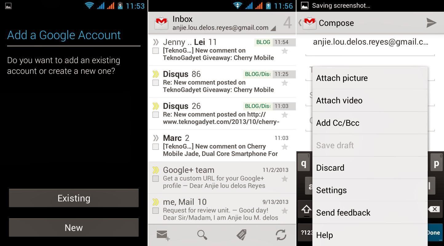 SKK Mobile Glimpse Gmail