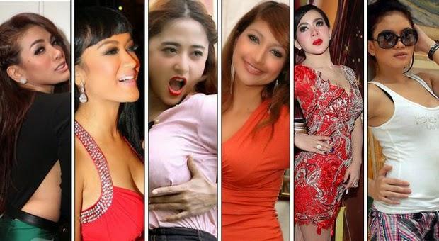 6 Kehebohan Saat Payudara Artis-Artis Indonesia Ini Dipegang