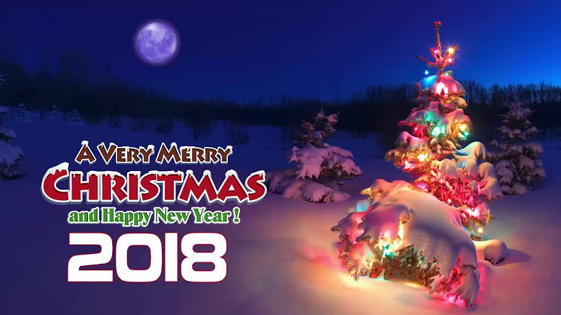 MERRY CHRISTMAS 2017 AND HAPPY NEWS YEAR 2018