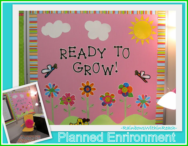 "photo of: Bulletin Board: ""Read to Grow"""
