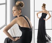 Rosa Clara: Vestidos de Fiesta negros. Es básico tener en nuestro armario un . vestidos fiesta negros
