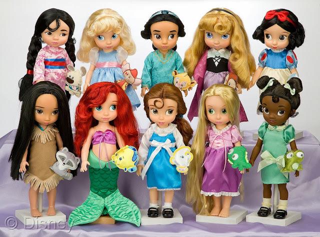 muñecas coleccion animator's