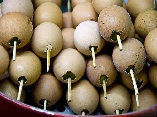 Trứng Xiên que – Thái Lan