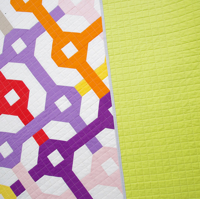 Tangled Quilt & Free Pattern  ~  30 Quilts for 30 Years Blog Hop | Red Pepper Quilts