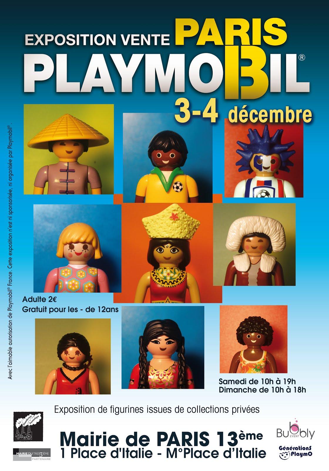 1er Exposition Playmobil à Paris, Mairie du 13ème
